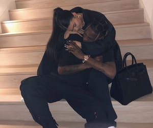 kylie jenner, couple, and travis scott image