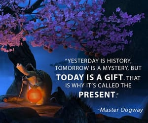 gift, kung fu panda, and quote image