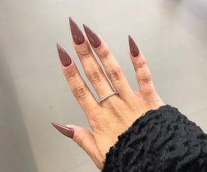 crystals, girl, and nails image