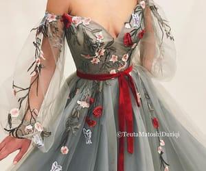 dress, teuta matoshi, and vestido image