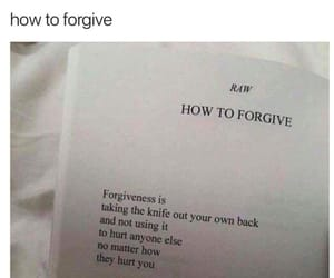 alone, forgive, and pain image