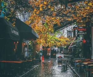 fall, istanbul, and rain image