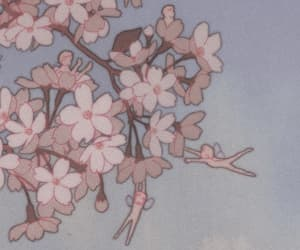 anime, aesthetic, and flowers image