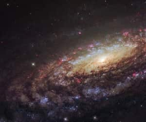 galaxy, stars, and sky image