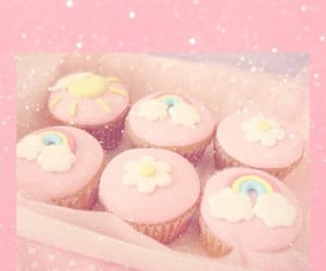 cupcakes, glitter, and icing image
