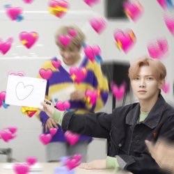 heart, meme, and hongjoong image