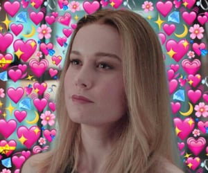 Marvel, brie larson, and wholesome image