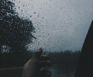 rain, sad, and tumblr image