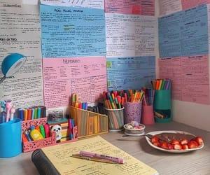 study motivation, desk, and school image