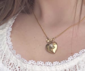 necklace and girl image