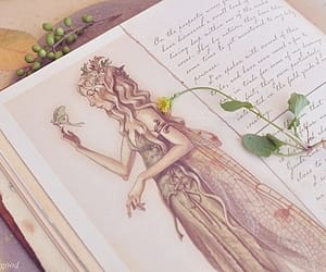 book, art, and elf image