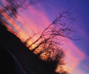 car, dawn, and light image
