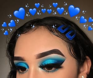 blue, cool, and eyes image