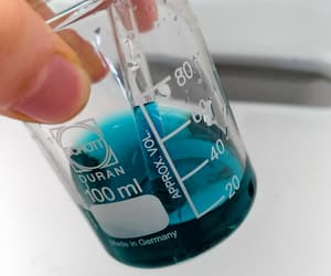 blue, chemistry, and colours image