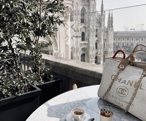 chanel, coffee, and bag image