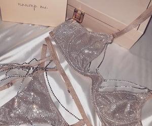 luxury, underwear, and diamond image