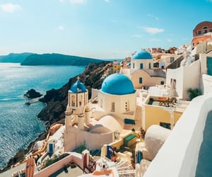 blue, life, and Greece image