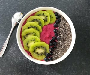 berry, breakfast, and fit image