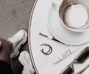 coffee, fashion, and latte image