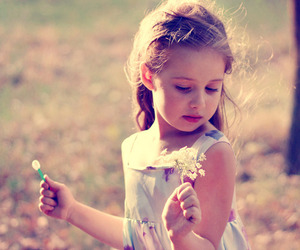 cute, little girl, and sweet image