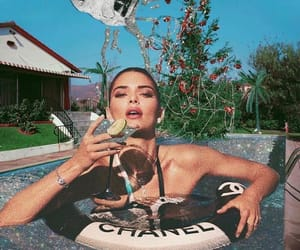 chanel, martini, and party image