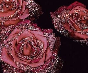 classic, flowers, and glitter image