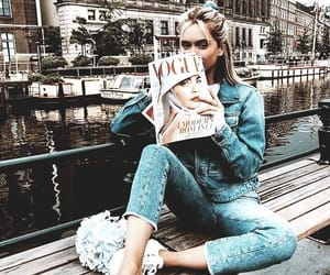 denim, fashion, and girl image