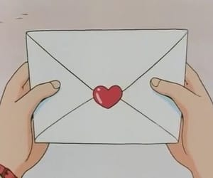 anime, Letter, and aesthetic image