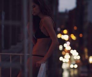 beauty, smoke, and girl image