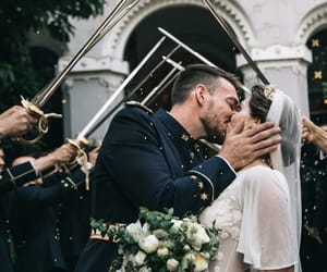 bride, couple, and goals image