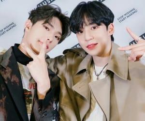 asian boy, san, and yunho image