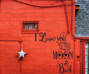 red, words, and wall image