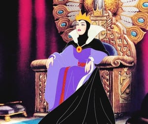 cartoons, snow white, and villain image
