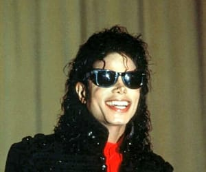 king of pop, mj, and smile image
