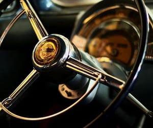 black, steering wheel, and car image