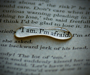 afraid, book, and quotes image