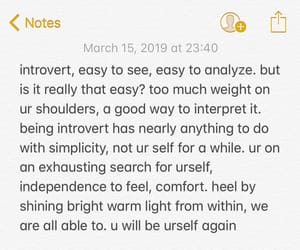 blue, introvert, and mental health image
