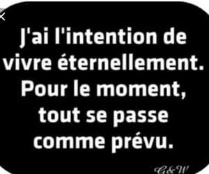 francais, vivre, and prévu image