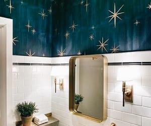 home, bathroom, and blue image