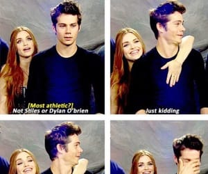 holland roden, dylan o'brien, and o'broden image
