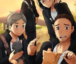 anime, asahi, and handsome image
