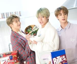 army, tae, and seokjin image