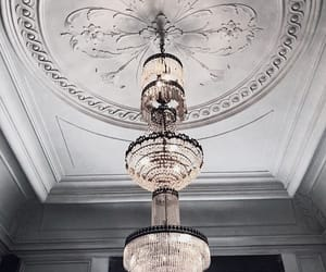 architecture, chandelier, and places image