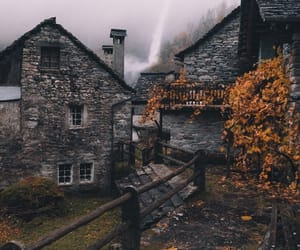 abandoned, autumn, and celtic image