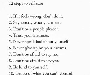 life, quotes, and self care image