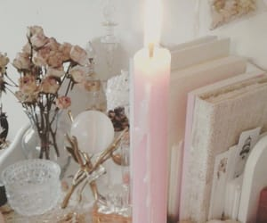 candle and pink image