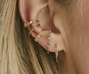 earrings, accessories, and girl image