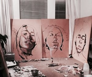 art, aesthetic, and painting image