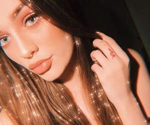 angel, shine, and influencer image