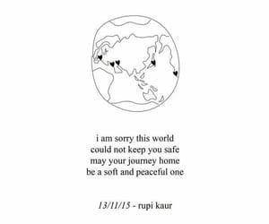quotes, world, and rupi kaur image